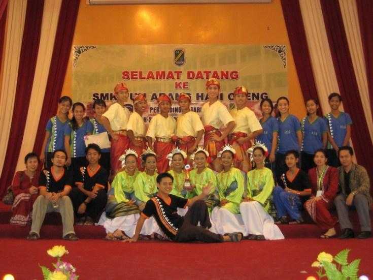 Mendapat Tempat Ketiga Dalam Pertandingan Tarian Sekolah-sekolah Menengah 2007 - Bahagian Kuching