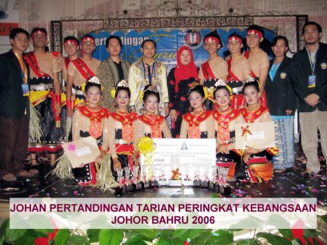 Johan Pertandingan Tarian Sekolah-sekolah Menengah 2006