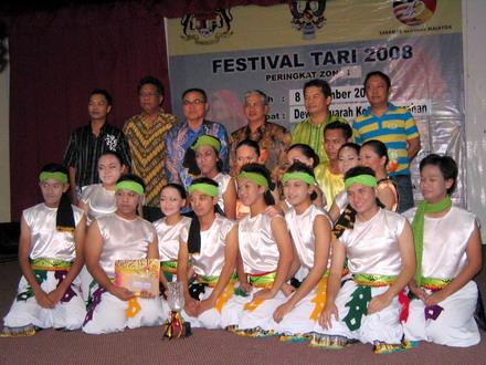Johan Festival Tari Zon 1 (Kuching/Samarahan)