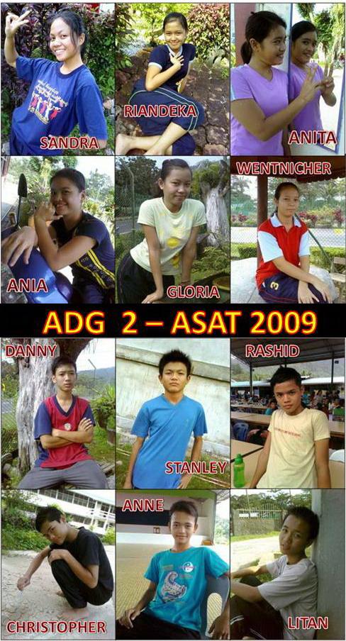 Finalis ADG 2 - ASAT 2009