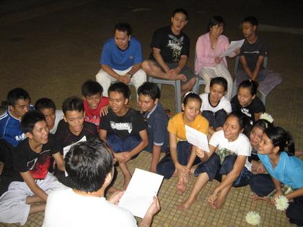 Latihan menyanyi