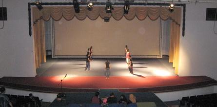 Pentas Auditorium TAZA - Tempat Pertandingan