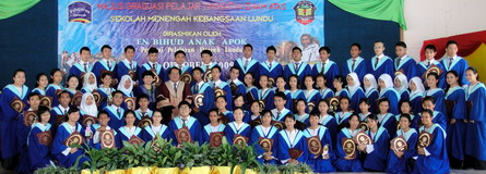 Persembahan ADG bersempena Hari Graduasi Tingkatan 6 2009