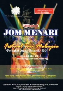 Poster Jom Menari