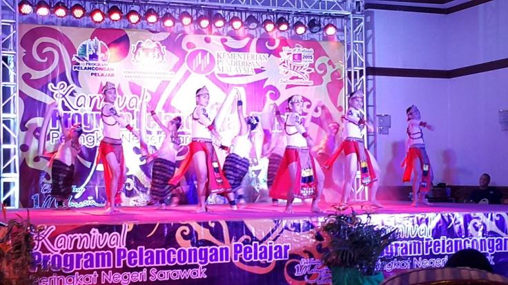 SMK Lundu - Johan keseluruhan, Kreatif terbaik & Koreografi terbaik